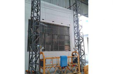 10m drevet aluminiumsløfteopphengt plattform zlp1000 enkeltfase 2 * 2,2kw