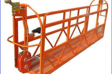 1000 kg 7,5 mx 3 seksjoner Aluminium Alloy Suspended arbeidsplattform ZLP1000