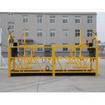 høy kvalitet og varm zlp630 zlp800 kraft arbeidsplattform zlp 630 suspendert plattform