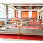 zlp630 aluminiumshjulet plattform (ce iso gost) / høytstående vinduesrengjøringsutstyr / midlertidig gondol / vugge / svingstadium hot