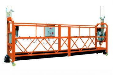 2.5M x 3 Seksjoner 1000kg Suspended Access Platform Løftehastighet 8-10 m / min