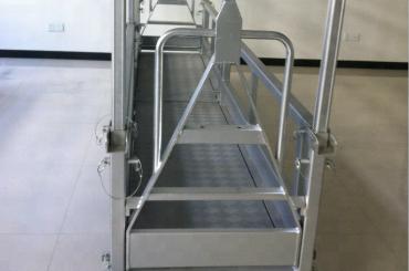 Nedhengt stål arbeidsplattform / opphengt stålplattform