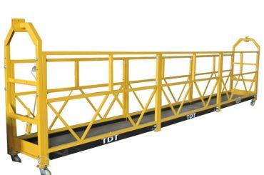 stål / varmgalvanisert / aluminiumslegering tau suspendert plattform 1.5kw 380v 50hz