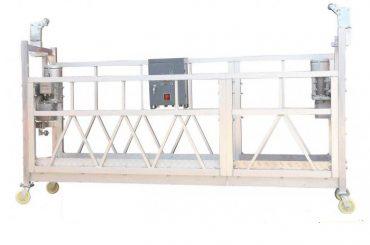 stålmalert / varmgalvanisert / aluminium zlp630 opphengt arbeidsplattform for fasadmaling av fasade