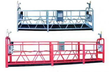 zlp 630 tau opphengt plattform antenne arbeid swing stadium stillas med plast spray maling