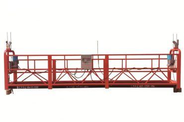 stål / varmgalvanisert midlertidig opphengt plattform, zlp500 vedlikeholds vugge