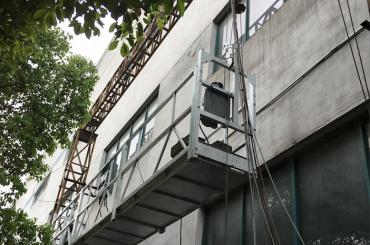 zlp1000 2.5m * 3 2.2kw 8kn suspenderte tilgangs vugger med elektrisk styringssystem