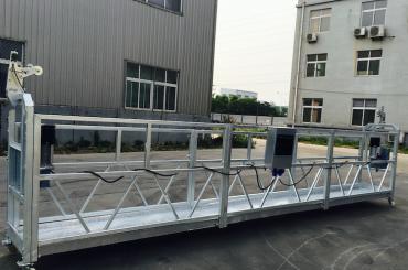 justerbar aluminiumslegering tau suspendert plattform zlp 800 for oppussing / maling