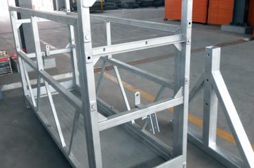 høyt sikkerhets tau opphengt plattform heiser installasjonsplattform zlp630 zlp800 zlp1000