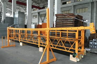 zlp 500 lp 630 midlertidig opphengt tauplattform for bygging