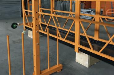 enfasespenningstrådplattform 800 kg 1,8 kw, løftehastighet 8 -10 m / min