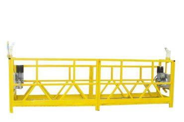 stål / aluminiumsophæng, plattforms vugge, 630 kg suspendert tilgangsutstyr