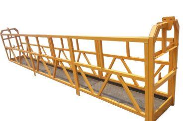 tauhenger avhengig tilgangsplattform, zlp630 konstruksjonsløft gondolmaskin